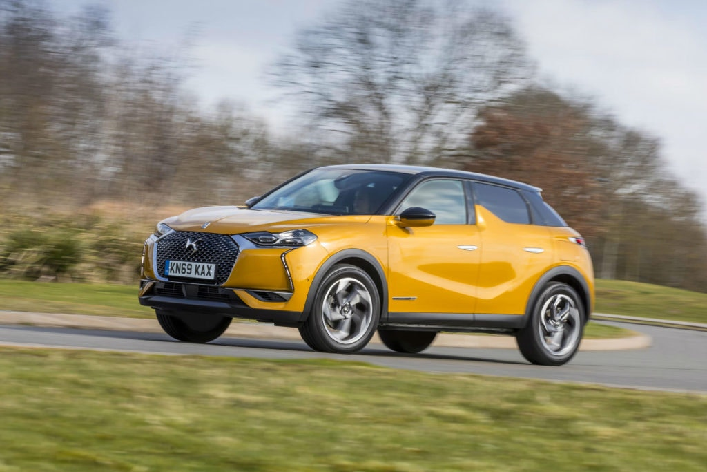 DS3 Crossback is a baby luxury crossover.