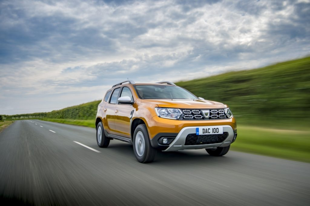 The award-winning Dacia Duster for motability.