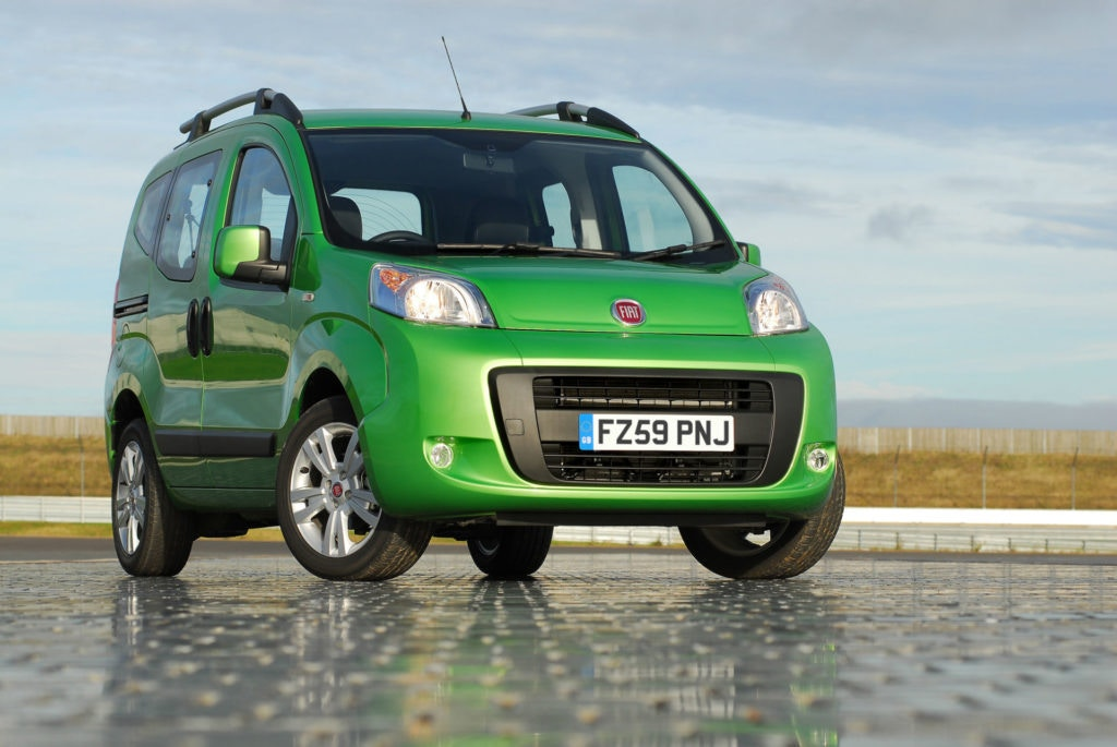 Fiat Qubo may be based on a van but it's ideal for your dog.