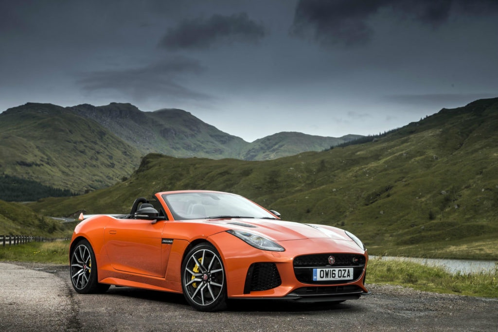 Le meilleur de la gamme Jaguar F-Type SVR