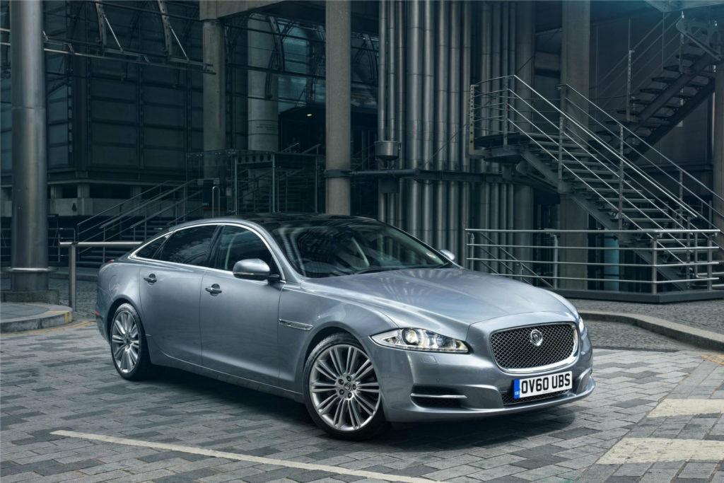 Jaguar XJ avant de la voiture de luxe