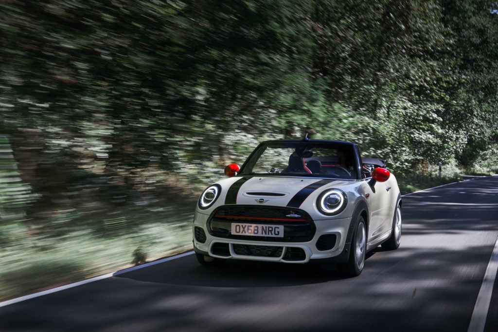 MINI's hottest JCW convertible