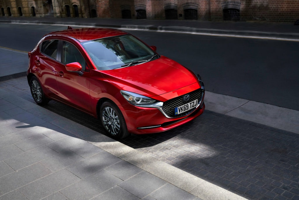 Mazda 2 offers an automatic gearbox.