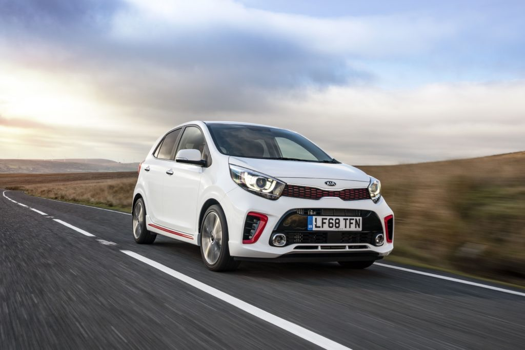 Kia's Picanto is nimble and nippy, plus it's great with the motability scheme.