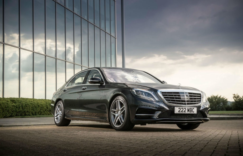 Beauty and performance combine in the Mercedes S-Class