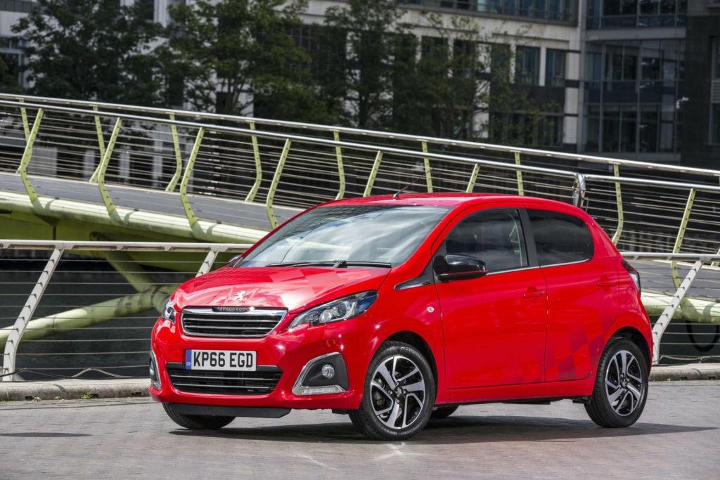 Peugeot 108 Rouge