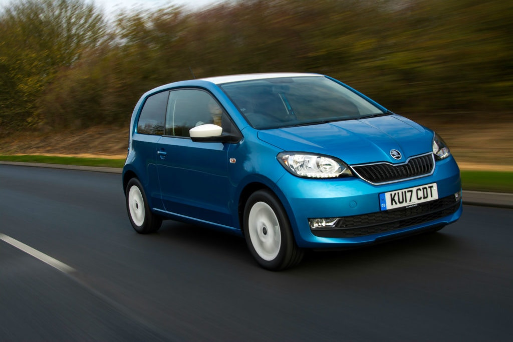 The Skoda Citigo makes a great car for new drivers.