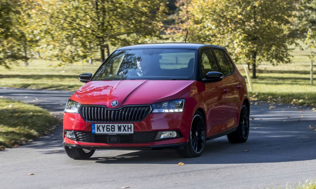 Skoda's Fabia makes for a super cheap car to insure.