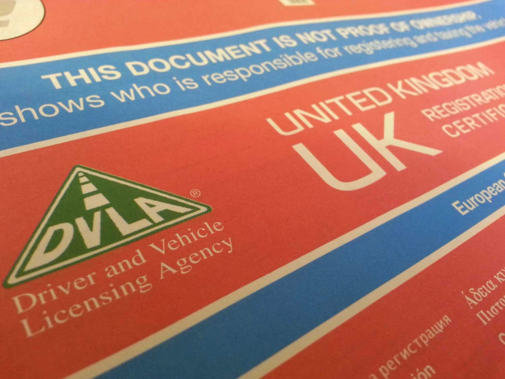 The DVLA and Selling Your Car