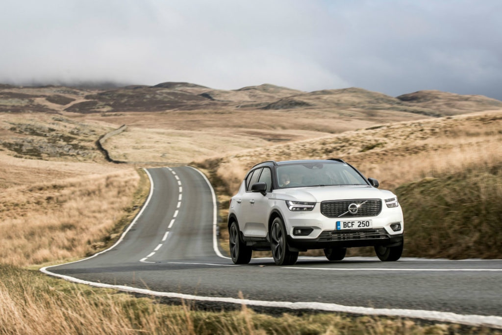 Volvo's XC40 is a stylish baby crossover
