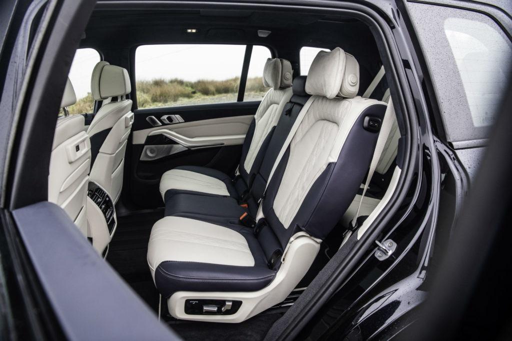 Intérieur de la BMW X7