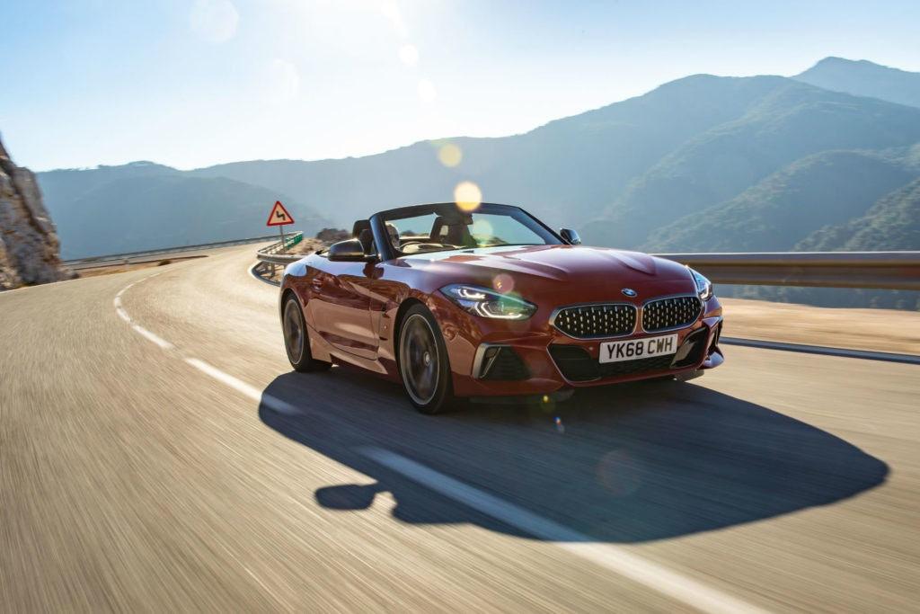 BMW Z4, voiture de sport décapotable