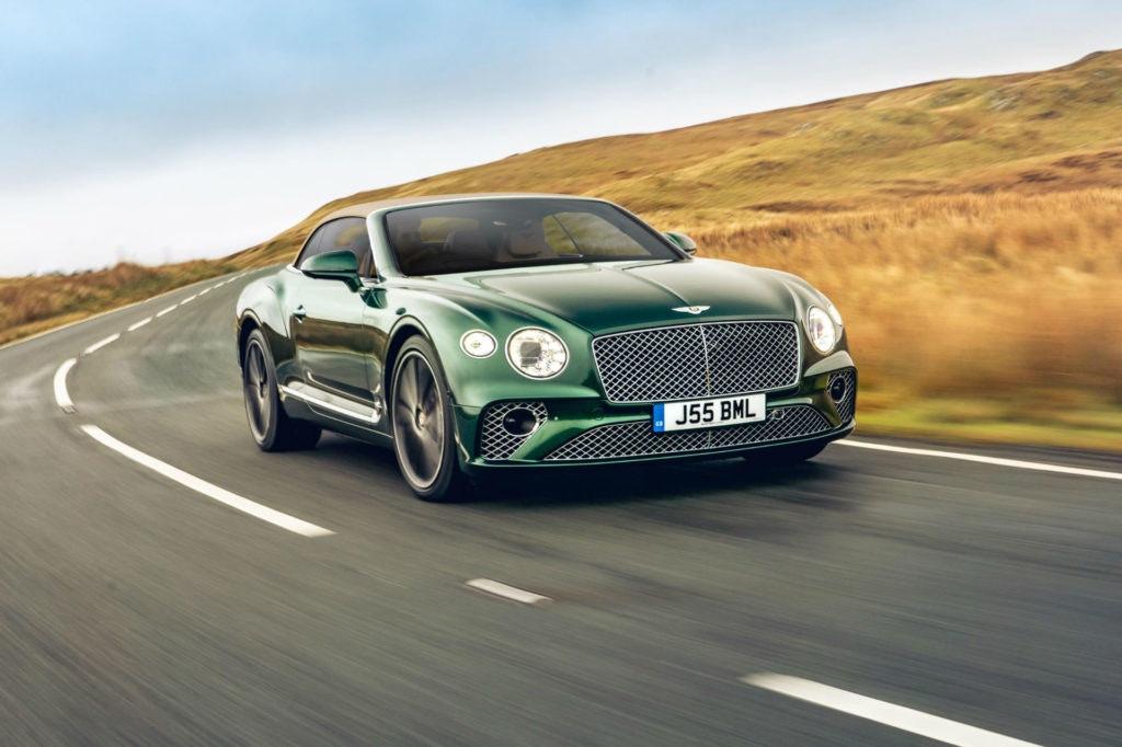 La Bentley Continental GT, une voiture de luxe