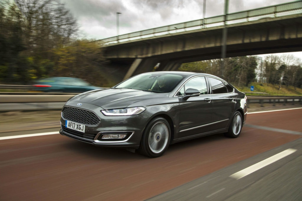 The Ford Mondeo offers a smooth motorway experience