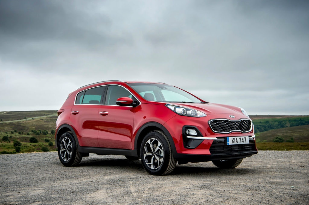 KIA Sportage for less than £200 on lease