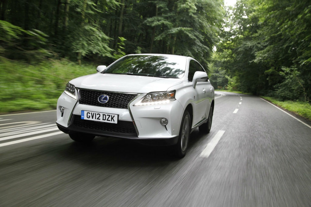 Lexus RX Front 2012
