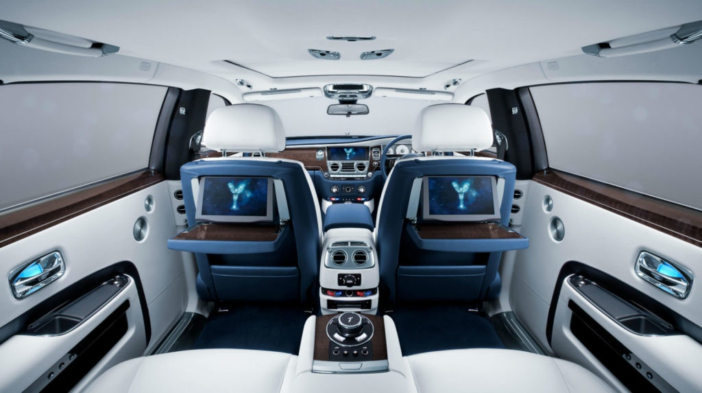 Inside the Rolls-Royce Ghost is like nothing else