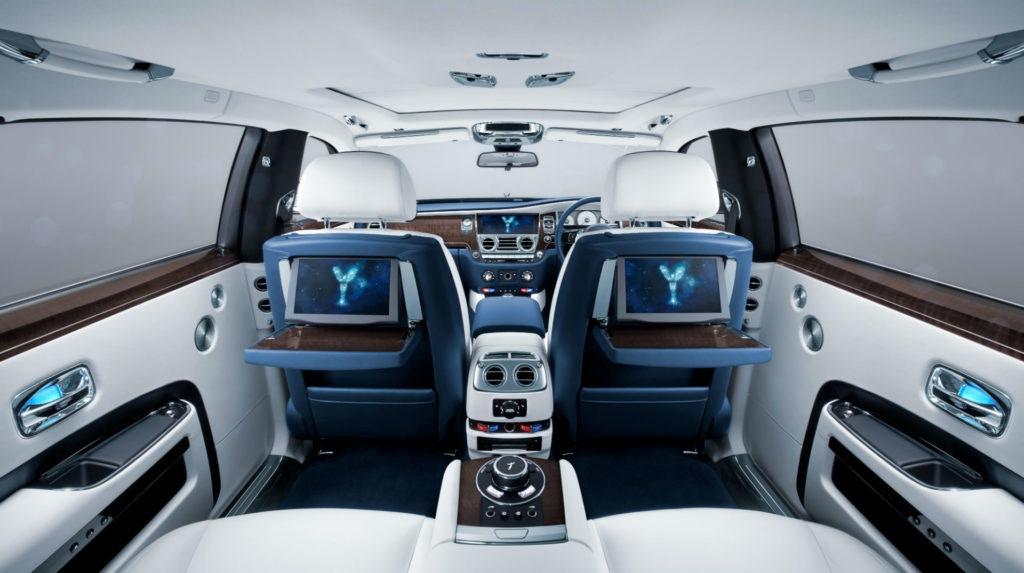 A l'intérieur de la Rolls-Royce Ghost, il n'y a rien de comparable