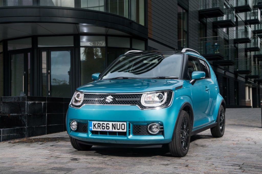 Suzuki Ignis is a city car that can off-road just as well