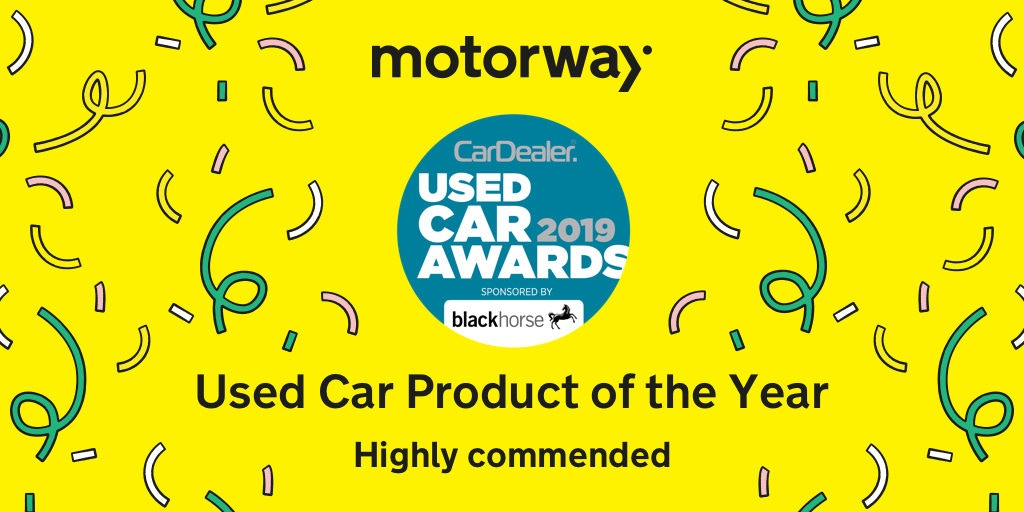 Motorway Pro, Used Car Product Of The Year 2019 - Highly commended