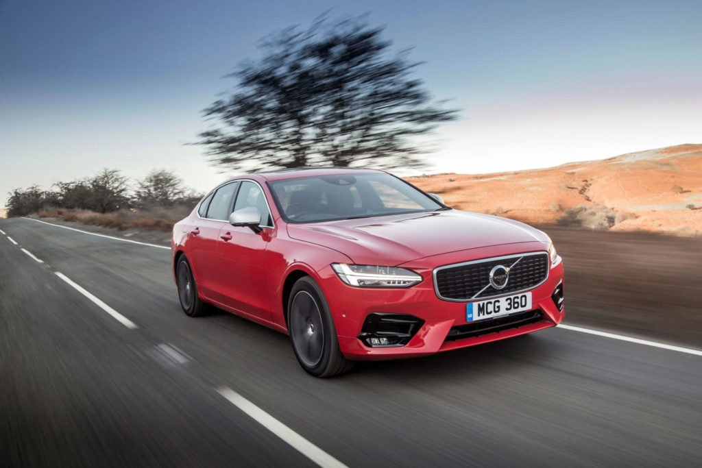 Volvo S90 Front On