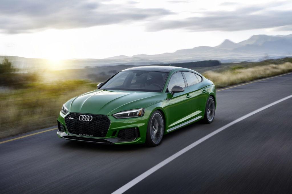 Sportive et élégante : l'Audi RS5 Sportback