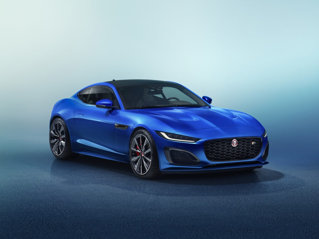 Easy on the eyes: the Jaguar F Type