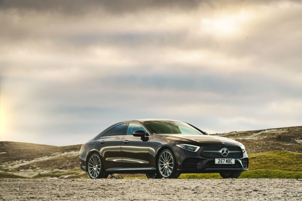 The Mercedes CLS coupe is hard to match in the style stakes