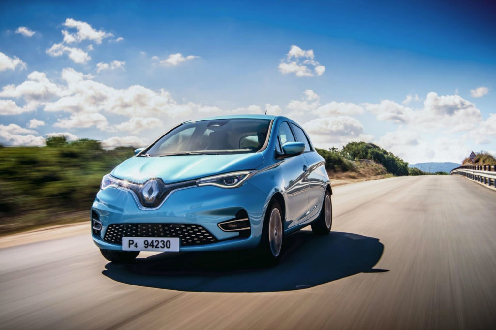 2020 updated Renault Zoe